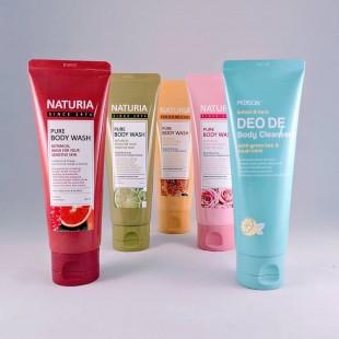 EVAS Naturia Pure Body Wash/Гель для душа на основе натуральных экстрактов 100мл