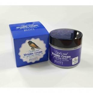 JIGOTT Bird's Nest Wrinkle Cream/Антивозрастной крем для лица с экстрактом ласточкиного гнезда 70мл