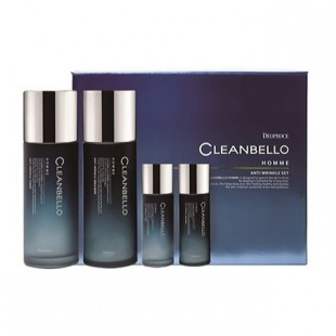 DEOPROCE Cleanbello Homme Anti-Wrinkle Set/Набор антивозрастной для мужчин