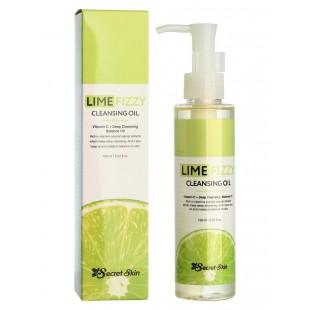 SECRET SKIN Lime Fizzy Cleansing Oil/Масло гидрофильное с экстрактом лайма 150 мл.