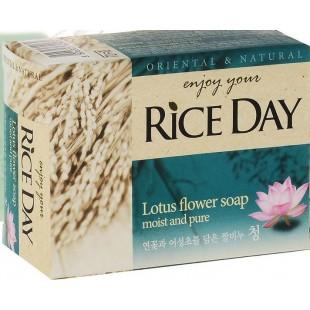 CJ Lion Rice Day/ Мыло туалетное , экстракт лотоса, 100 гр