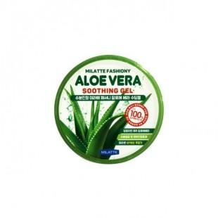 MILATTE Fashiony 100% Aloe Vera Soothing Gel/Гель универсальный с 100% алоэ вера
