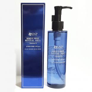 SNP Bird's Nest Revital Aqua Cleansing Oil/Гидрофильное масло для лица с ласточкиным гнездом