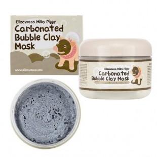 ELIZAVECCA Milky Piggy Carbonated Bubble Clay Mask/Маска очищающая глиняно-пузырьковая 100 мл.
