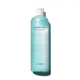 THE SAEM Natural Daily Skin Clearing Toner/Тонер для лица очищающий 500 мл.