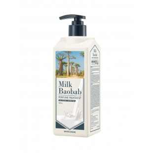 MILK BAOBAB Perfume Treatment White Musk/Бальзам для волос с ароматом белого мускуса 500 мл.