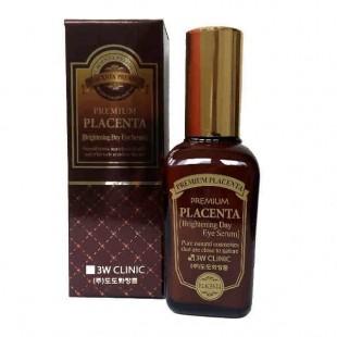 3W CLINIC Placenta Brightening Day Eye Serum/Осветляющая сыворотка для кожи вокруг глаз 50мл