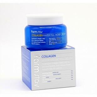 FARMSTAY Collagen Water Full Moist Cream/Увлажняющий крем с коллагеном
