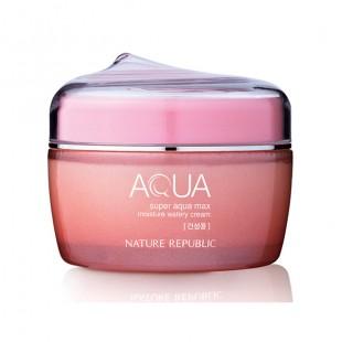 Nature Republic Super AQUA Max Cream/Увлажняющий крем для сухой кожи  80ml