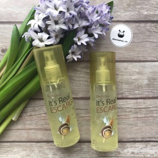 FARMSTAY It's Real Gel Mist/мист со слизью улитки 120 мл