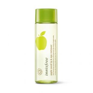 INNISFREE Apple Seed Lip & Eye Remover/Средство с экстрактом яблока для снятия макияжа с губ и глаз 100ml