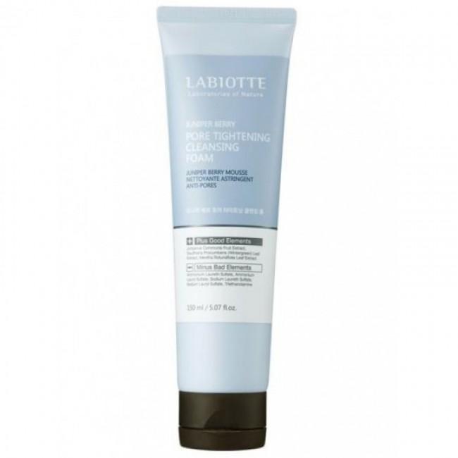 LABIOTTE Juniper Berry Pore Tightening Cleansing Foam/ Пенка для умывания 150мл