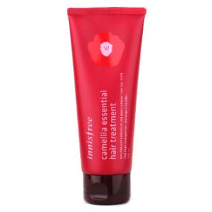 Innisfree Camellia Essential Hair Treatment/Маска с камелией восстанавливающая поврежденные и окрашенные волосы