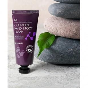 MIZON Collagen Hand&Foot Cream/Крем для рук и ног с коллагеном 100 мл.