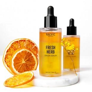 NACIFIC Fresh Herb Origin Serum/Освежающая органическая сыворотка для лица 50 мл.