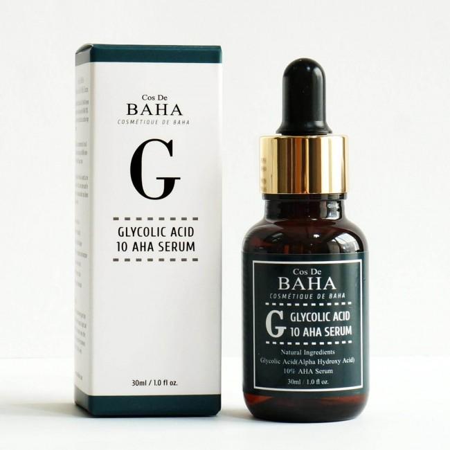 COS DE BAHA G Glycolic Acid 10 Aha Serum/Сыворотка с гликолевой кислотой для проблемной кожи 30 мл.