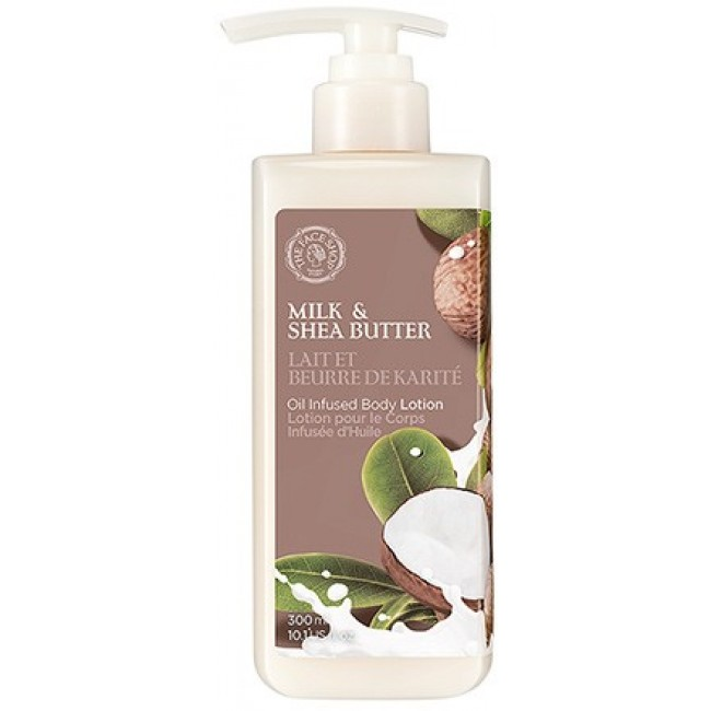 The Face Shop Milk And Shea Butter Oil Infused Body Lotion/Питательный лосьон для тела