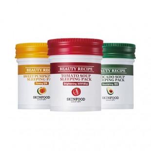 Skinfood beauty recipe sleeping pack/ночная маска с экстрактом овощей и фруктов 90ml