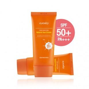 EYENLIP Pure Perfection Natural Sun Cream UV SPF 50+/PA+++/Солнцезащитный крем UV SPF 50+/PA+++