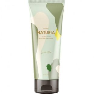 EVAS NATURIA Creamy Oil Salt Scrub Green Tea/Скраб для тела с зеленым чаем 250 мл.