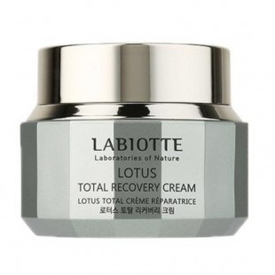 LABIOTTE Lotus Total Recovery Cream/Восстанавливающий крем с лотосом для сухой и тусклой кожи 50ml