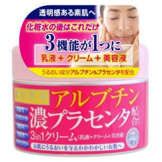 Cosmetex Roland крем для лица 3в1 с арбутином и экстрактом плаценты 180гр.