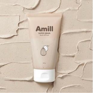 AMILL Super Grain Wash-Off Pack/Маска глиняная с зерновыми экстрактами 100 мл.