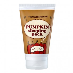 TOO COOL FOR SCHOOL PUMPKIN/Многофункциональная ночная маска c ферментами тыквы