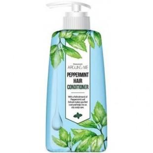 Welcos AROUND ME Peppermint Hair Conditioner /Кондиционер с экстрактом мяты перечной 500ml