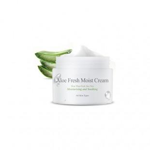 THE SKIN HOUSE Aloe Fresh Moist Cream/Увлажняющий и успокаивающий крем с алоэ