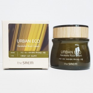 THE SAEM Urban Eco Harakeke Root Eye Cream/Крем с экстрактом корня новозеландского льна для кожи век