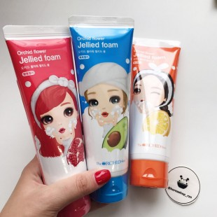 The Orchid Skin Jellied Foam /Гелевая пенка для умывания 120 ml