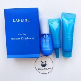 LANEIGE Water Bank Moisture Kit (3 Items)/набор из трех миниатюр