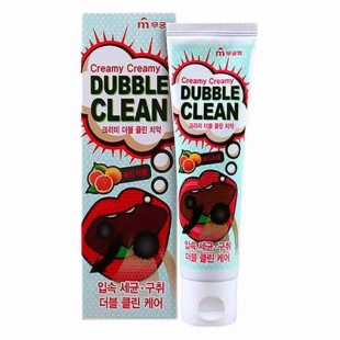 MUKUNGHWA Creamy Dubble Clean Toothpaste/Зубная паста с экстрактом красного грейпфрута 110 г.