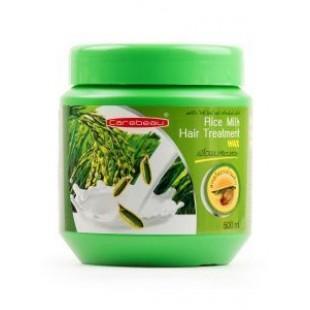 CAREBEAU Rice Milk Hair Treatment/Маска для волос на основе рисового молочка 500 мл.