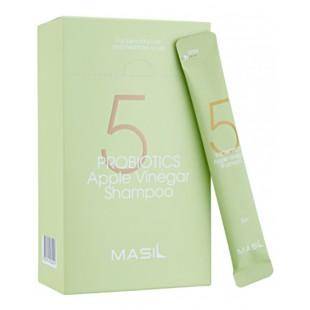 MASIL 5 Probiotics Apple Vinegar Shampoo/Шампунь от перхоти с яблочным уксусом 8 мл.