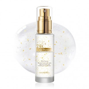 SECRET KEY 24K GOLD PREMIUM FIRST SERUM/СЫВОРОТКА ДЛЯ ЛИЦА С ЭКСТРАКТОМ ЗОЛОТА 30 МЛ