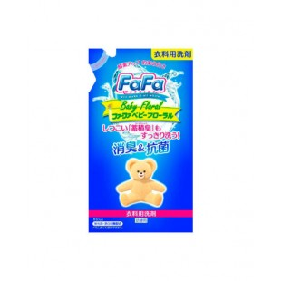 NS FaFa Japan Co/Жидкое мыло для стирки детского белья  с цветочным ароматом - 810 мл (мягкая упаковка)