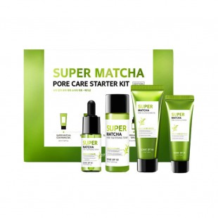 SOME BY MI Super Matcha Pore Care Starter Kit/Набор миниатюр для сужения пор с чаем матча