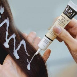 ESTHETIC HOUSE CP-1 Premium Silk Ampoule/Несмываемая сыворотка для волос с протеинами шёлка, 20 мл
