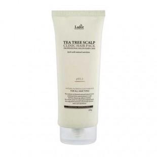 La'dor Tea Tree Scalp Hair Pack/Маска-пилинг для кожи головы с чайным деревом  200 мл
