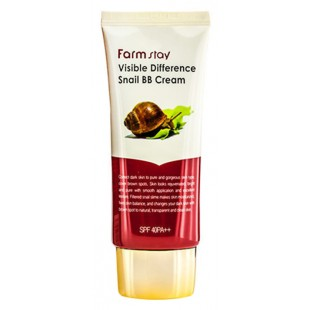 FARMSTAY Visible Difference Snail BB Cream/Восстанавливающий ББ крем с экстрактом улитки