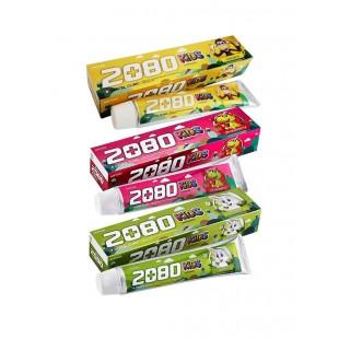 DENTAL CLINIC 2080 Kids Toothpaste/Зубная паста детская с фруктовыми ароматами 80 г.