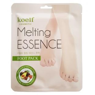 KOELF Melting Essence Foot Pack/Смягчающая маска-носочки для ног
