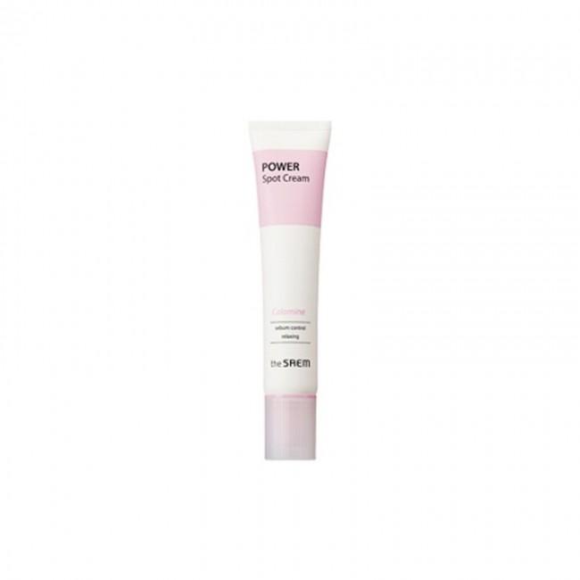THE SAEM Power Spot Calamine Cream 40ml/Точечный крем с каламином