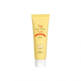 THE SKIN HOUSE Egg Pore Corset Foam/Пенка с яичным экстрактом для сужения пор 120ml
