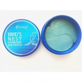 ESTHETIC HOUSE Bird's Nest Hydrogel Eye Patch/Гидрогелевые патчи для глаз с экстрактом ласточкиного гнезда