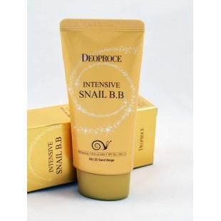 Deoproce /Восстанавливающий ББ крем с экстрактом слизи улитки SPF50+ PA+++50 ml