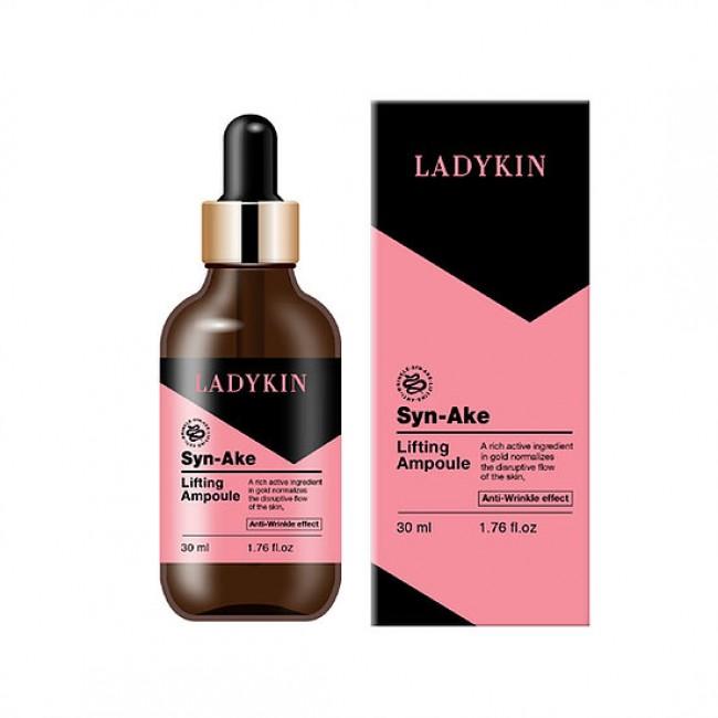 Ladykin Syn-Ake Lifting Ampoule 30ml/Сыворотка для лица со змеиным ядом