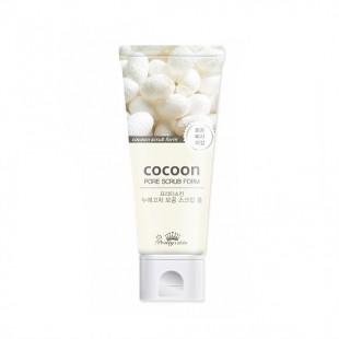 PRETTY SKIN Cocoon Pore Scrub Foam/ Пенка - скраб
